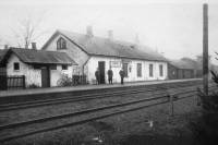 Fårup station 1913